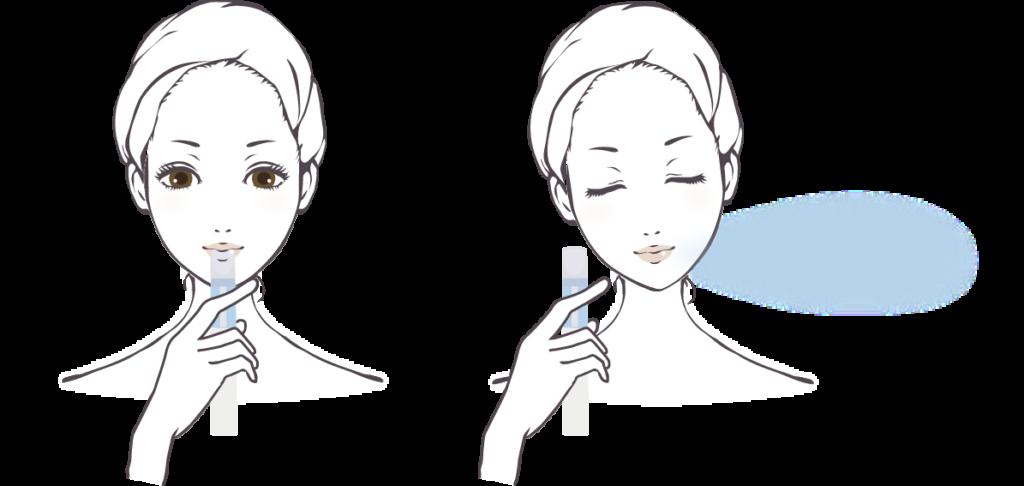 携帯用小型水素吸入器 sutte